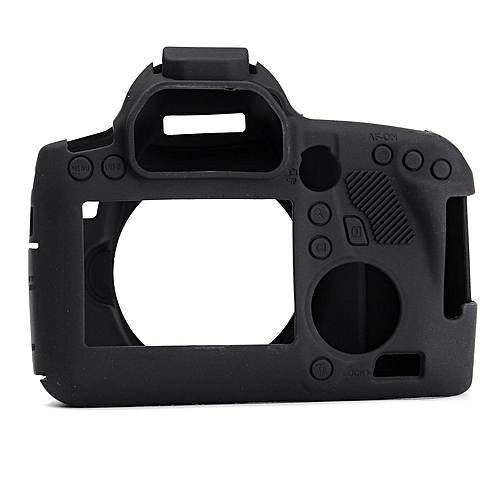 Silicone Rubber Protective Cover Skin For Canon 6D