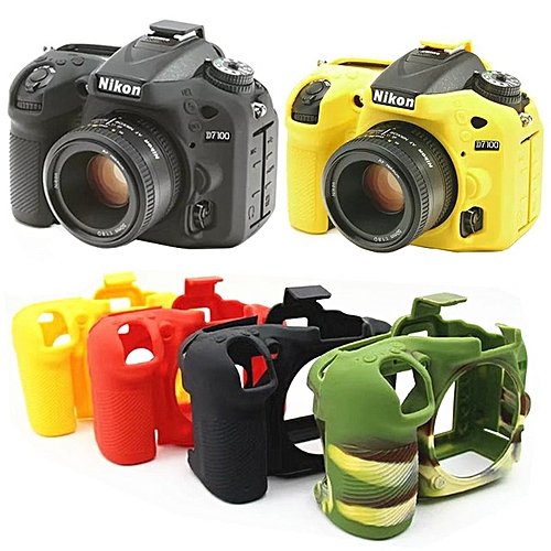 Soft Silicone Rubber Camera Protective Body Cover Case Skin For Canon 60D