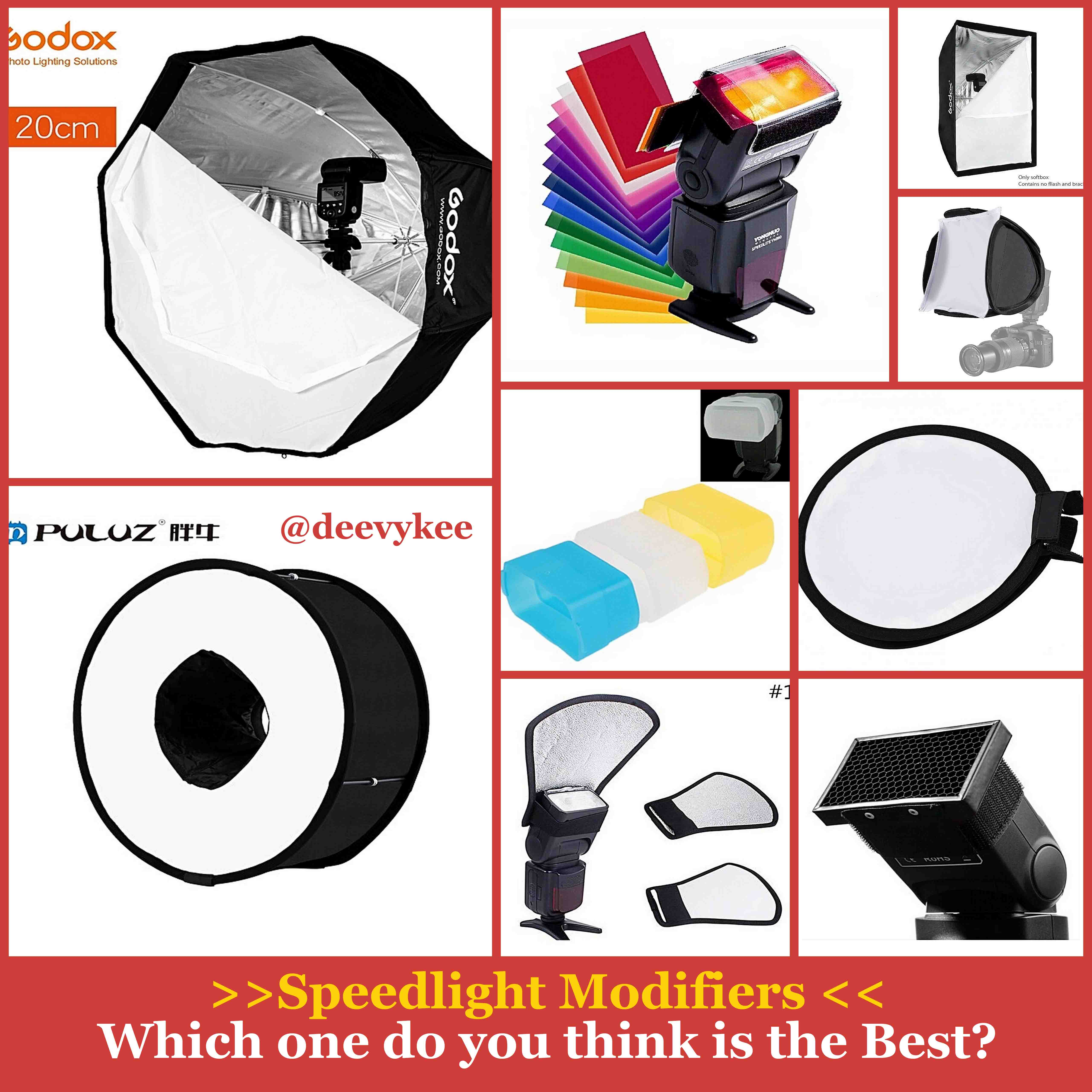 Top 10 Light Modifiers for your Godox, Canon or Nikon Speedlite you can buy online in Nigeria 1