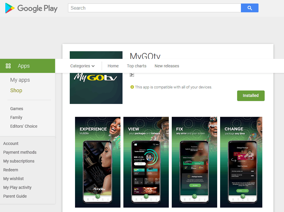 How To Download and Use GOtv Mobile App On Android or Iphone 2